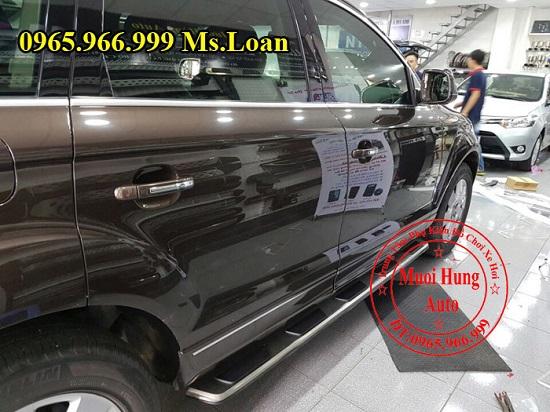 Bệ Bước Chân Cho Audi Q7 2012 01