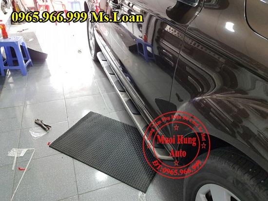 Bệ Bước Chân Cho Audi Q7 2012 02
