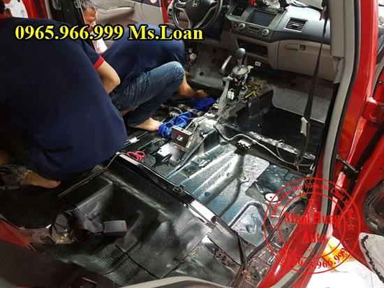 Cách Âm Forch Chính Hãng Xe Honda Civic 03