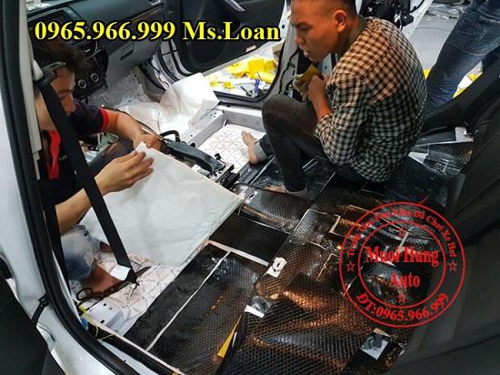 Dán Cách Âm Forch Xe Mazda 6 01