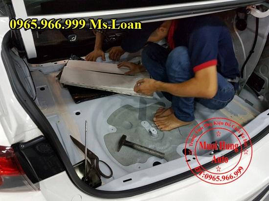 Dán Cách Âm Forch Xe Mazda 6 04