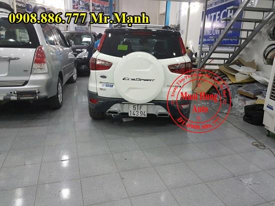 Độ Pô Có Tiếng Xe Ford Ecosport 02