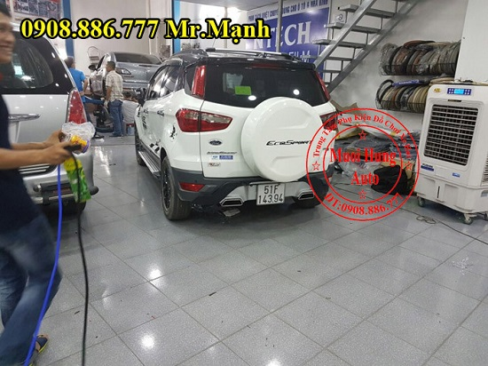 Độ Pô Có Tiếng Xe Ford Ecosport 03