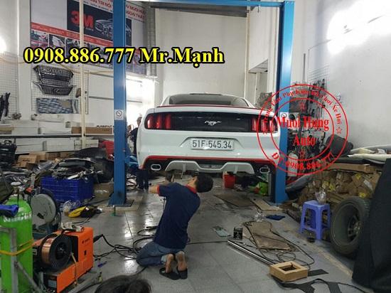 Độ Pô Ford Mustang 2015 Chuyên Nghiệp 02