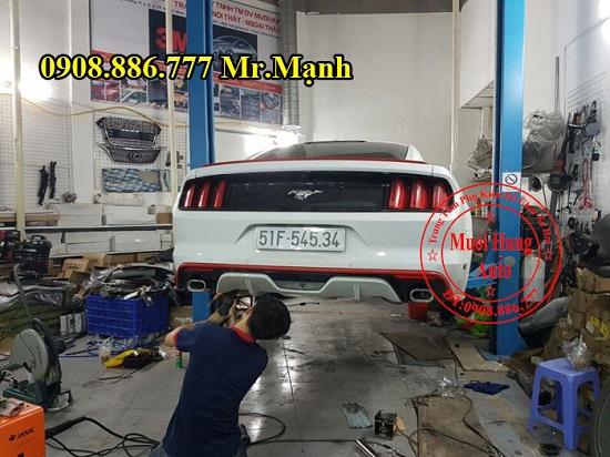 Độ Pô Ford Mustang 2015 Chuyên Nghiệp 03