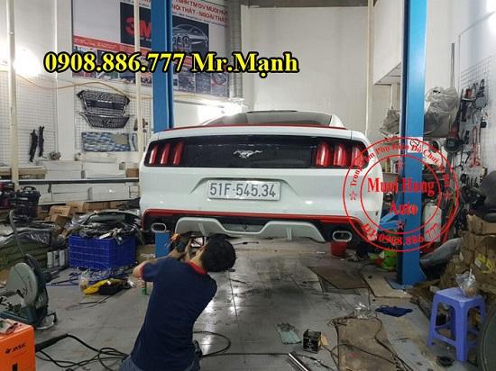 Độ Pô Ford Mustang 2015 Chuyên Nghiệp 04