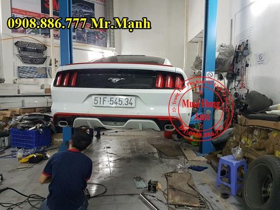 Độ Pô Ford Mustang 2015 Chuyên Nghiệp 05
