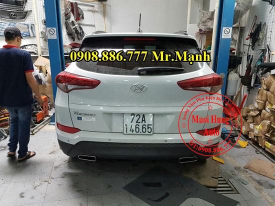 Độ Pô Xe Hyundai Tucson Chuyên Nghiệp 01