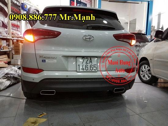 Độ Pô Xe Hyundai Tucson Chuyên Nghiệp 04