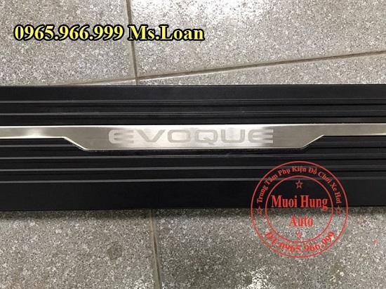 Bệ Bước Điện Thụt Thò Xe Land Rover Evoque 01