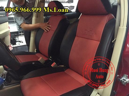 Bọc Ghế Da Cho Xe Chevrolet Aveo 01