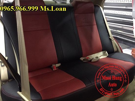 Bọc Ghế Da Cho Xe Chevrolet Aveo 02