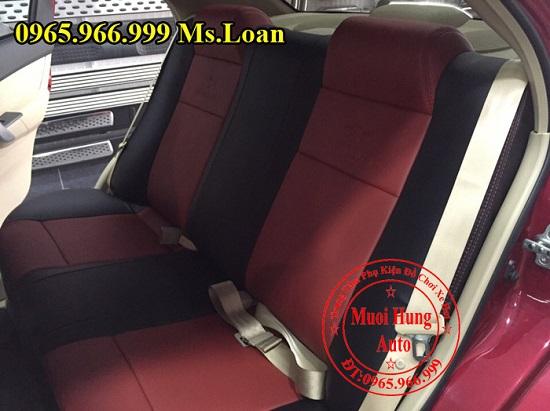 Bọc Ghế Da Cho Xe Chevrolet Aveo 03