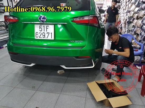 Chắn Bùn Cho Xe Lexus NX300T Cao Cấp