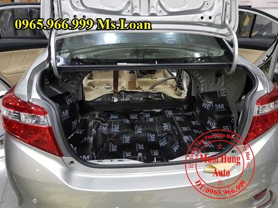 Dán Cách Âm 3M Cho Toyota Vios 04