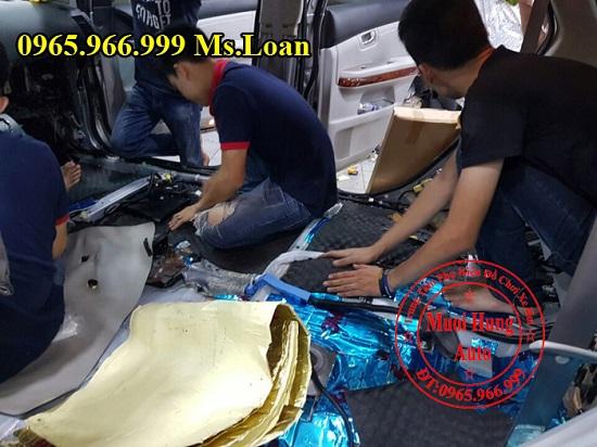 Dán Cách Âm 3M Cho Xe Lexus Rx350