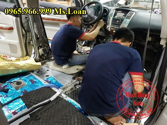 Dán Cách Âm 3M Cho Xe Lexus Rx350 02