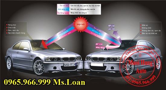 Dán Phim 3M Cao Cấp Xe Mercedes E200 02