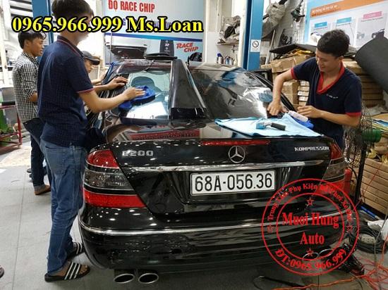 Dán Phim 3M Cao Cấp Xe Mercedes E200 05