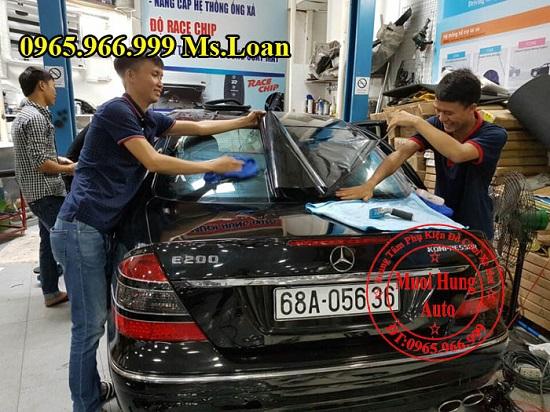Dán Phim 3M Cao Cấp Xe Mercedes E200 06