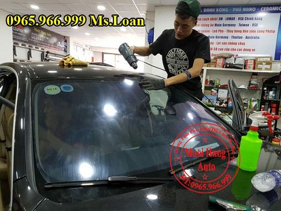 Dán Phim Cách Nhiệt Cho Mercedes C200, C300 08