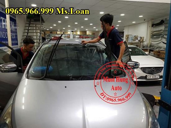 Dán Phim Cách Nhiệt Cho Mercedes C200, C300 02