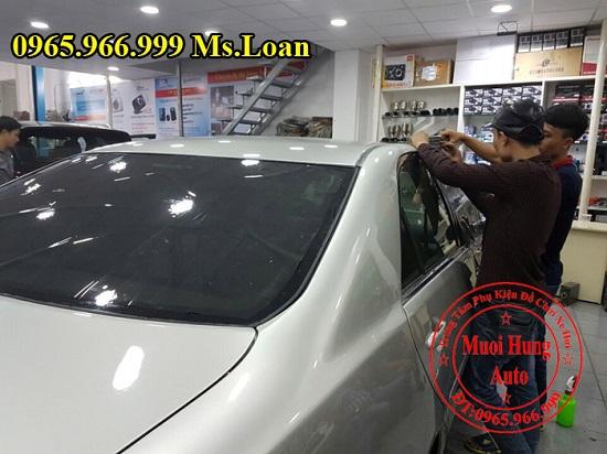 Dán Phim Cách Nhiệt Cho Mercedes S400, S500 02
