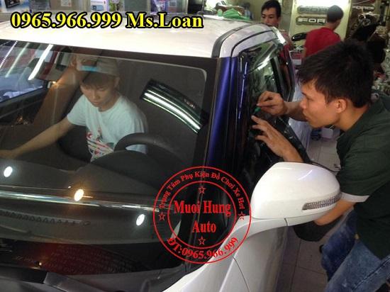 Dán Phim Cách Nhiệt Cho Xe Lexus RX350 05