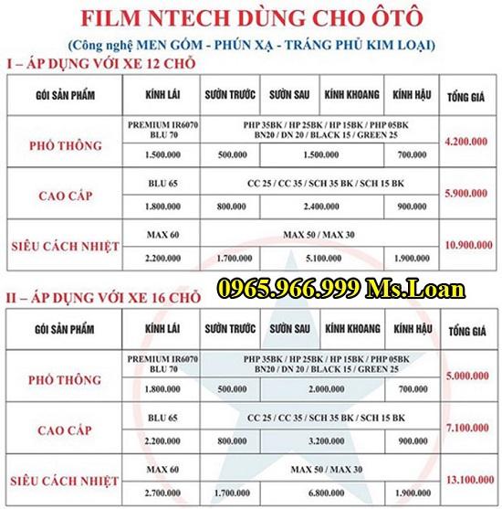 Dán Phim Cách Nhiệt Ntech Cho Lexus RX350 03