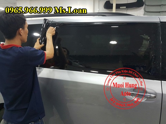 Dán Phim Cách Nhiệt Ntech Cho Lexus RX350 04