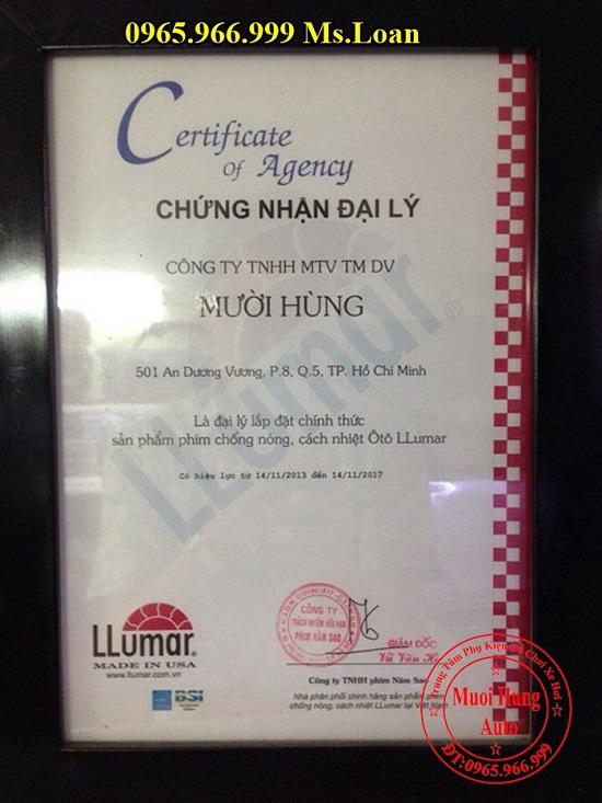 Dán Phim Chống Nóng Llumar Cho Lexus LX570 02