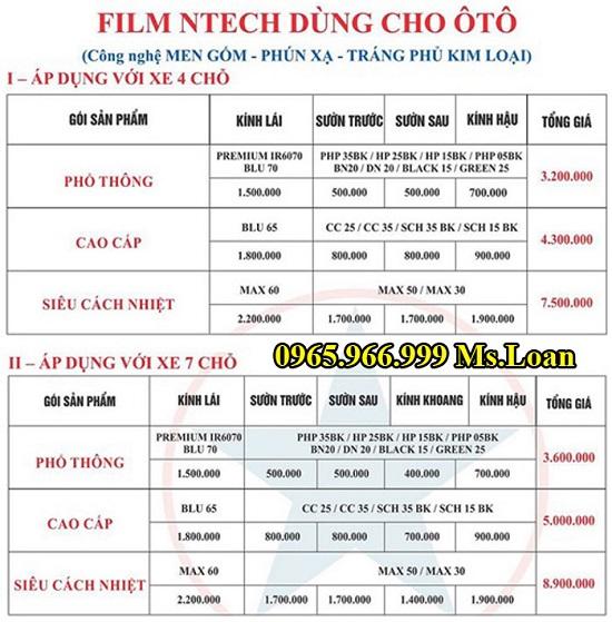 Dán Phim Ntech Cho Ecosport Chính Hãng 02