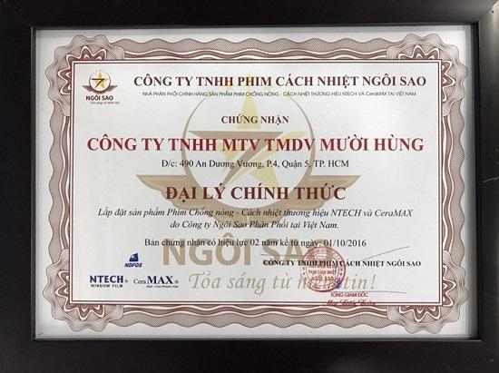 Dán Phim Ntech Cho Mercedes C200, C300 Uy Tín 01