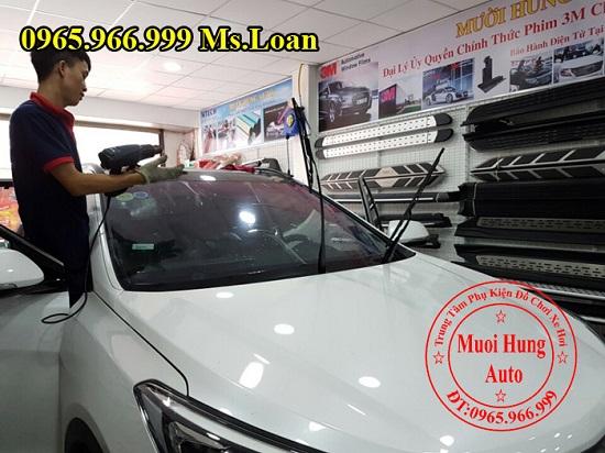 Dán Phim Ntech Cho Mercedes C200, C300 Uy Tín 04