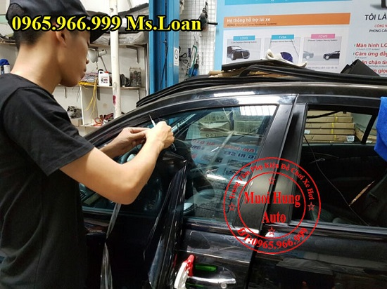 Dán Phim Ntech Cho Xe Mercedes E200, E300 04