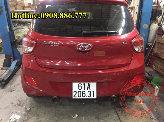 Độ Pô Cho Xe Hyundai i10 Chuyên Nghiệp 01