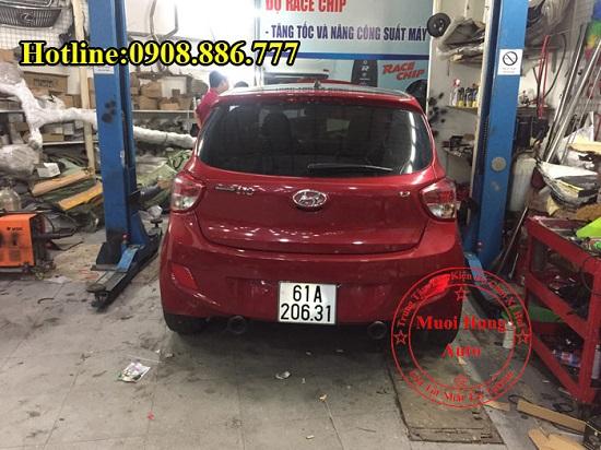Độ Pô Cho Xe Hyundai i10 Chuyên Nghiệp 02