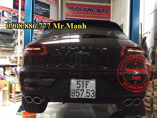 Độ Pô Cho Xe Porsche Macan Chuyên Nghiệp 02