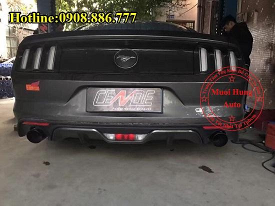 Độ Pô Có Tiếng Cho Xe Ford Mustang 03