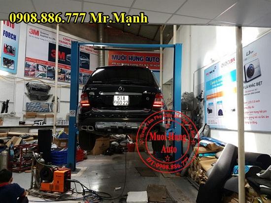 Độ Pô Xe Mercedes Ml350 Chuyên Nghiệp 01