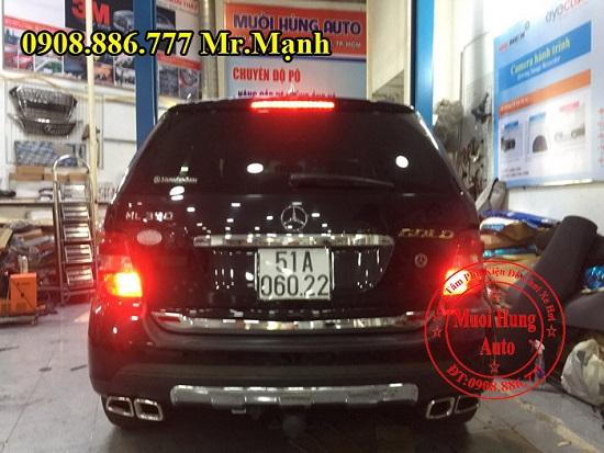 Độ Pô Xe Mercedes Ml350 Chuyên Nghiệp 03