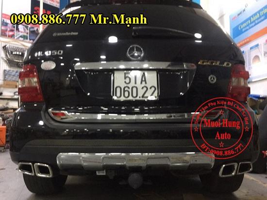 Độ Pô Xe Mercedes Ml350 Chuyên Nghiệp 04