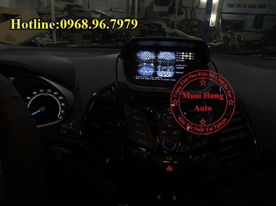 Gắn Camera 360 Độ Cho Xe Ford Ecosport