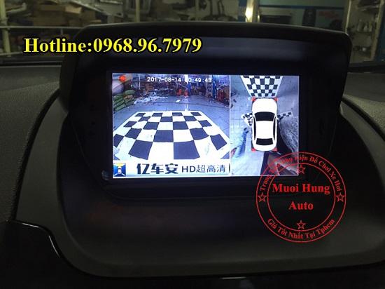 Gắn Camera 360 Độ Cho Xe Ford Ecosport 01