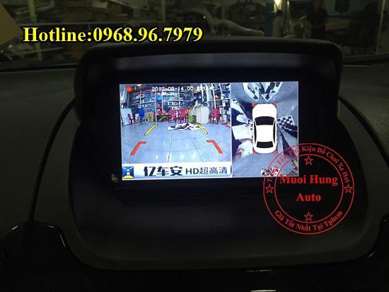 Gắn Camera 360 Độ Cho Xe Ford Ecosport 03