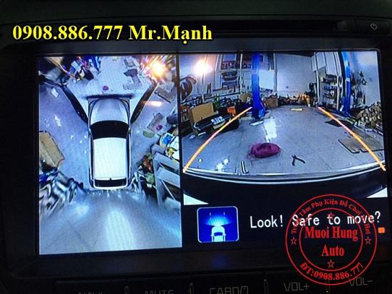 Lắp Camera 360 Độ Xe Kia Sorento 2016 01