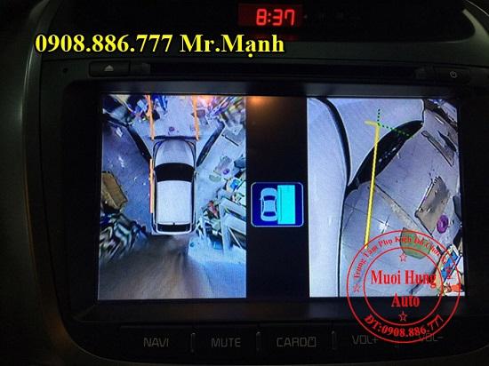 Lắp Camera 360 Độ Xe Kia Sorento 2016 02