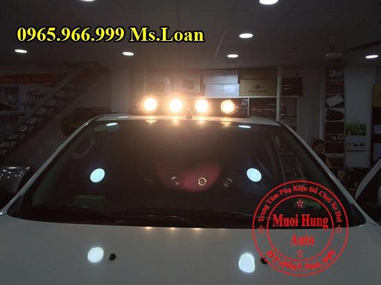 Lắp, Gắn Đèn Mui Cho Xe Mazda BT50