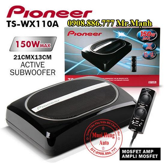 Loa Sub Chính Hãng Pioneer TS-WX110A Cho Ô Tô