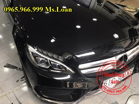Phủ Nano Cho Xe Mercedes C300 Chuyên Nghiệp